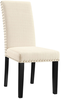 Modway Parcel Dining Upholstered Fabric Side Chair