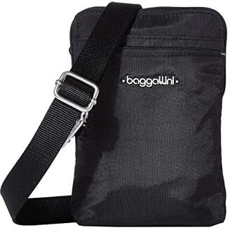 Baggallini Anti-Theft Activity Crossbody (Black) Handbags