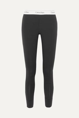 Calvin Klein Underwear Modern Stretch Cotton-blend Leggings - Black