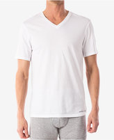 Michael Kors Men's Essentials Cotton V-Neck T-Shirts, 3-Pack