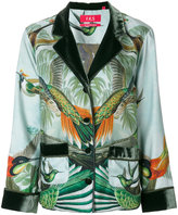 F.R.S For Restless Sleepers - forest and bird print blazer - women - Silk - S