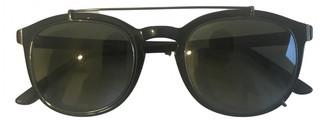 Tod's Black Plastic Sunglasses