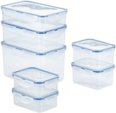 Lock & Lock Easy Essentials 14-pc. Rectangular Food Storage Container Set