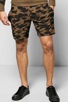 Boohoo Camo Jersey Shorts