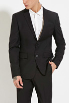Forever 21 FOREVER 21+ Two-Button Suit Jacket