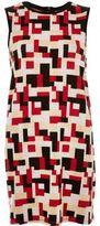 River Island Womens Red jacquard print tunic