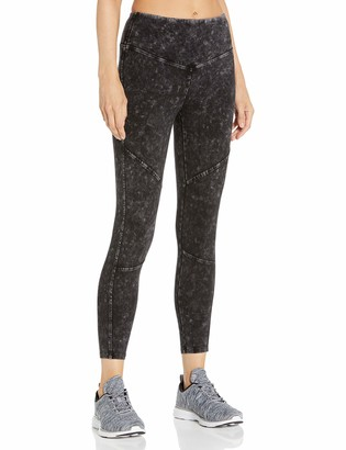 Andrew Marc Women's Mineral Wash Seamed Legging