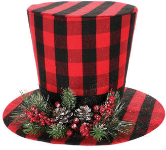 Buffalo David Bitton Burton & Burton 3Pc Hat Red Tree Topper Set