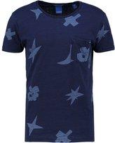 Scotch & Soda Print Tshirt Dark Blue