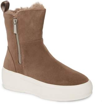 J/Slides Carole Platform High Top Sneaker