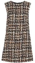 Dolce & Gabbana Knitted Wool-blend Dress