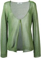 Blugirl knitted cardigan - women - Cotton - 42