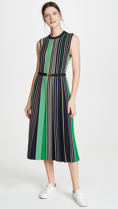 Tory Burch Striped Sweater Dress