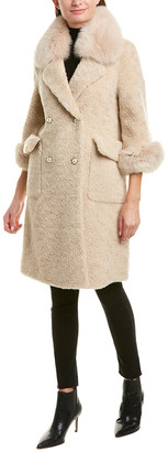 La Fiorentina Wool Coat