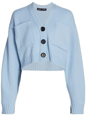 Proenza Schouler Eco Cashmere Core Knit Cardigan