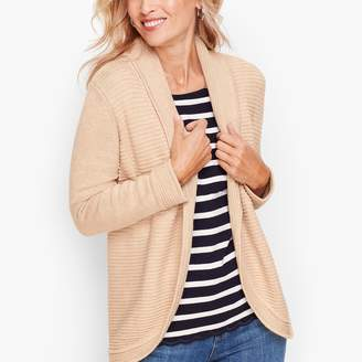 Talbots Mix Stitch Cocoon Sweater