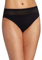 Warner's Women's No Pinching No Problems Lace Hi-Cut Brief Panty