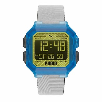 Puma Men Remix Stainless Steel Watch Color: Black/Black Steel (Model: P5017)