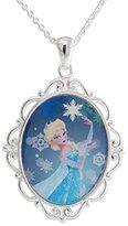 Disney Frozen Elsa Pendant W/Star & Chain. GIFT BOX