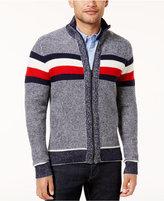 Tommy Hilfiger Men's Oakes Full-Zip Sweater