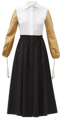 Max Mara Scacco Dress - White Multi