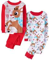 Crazy 8 Rudolph 2-Piece Pajamas 2-Pack