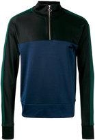 Ami Alexandre Mattiussi half zip track top - men - Cotton/Polyester - S
