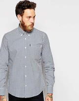 Barbour Shirt In Gingham Check Slim Fit
