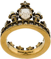 Alexander McQueen King crown ring