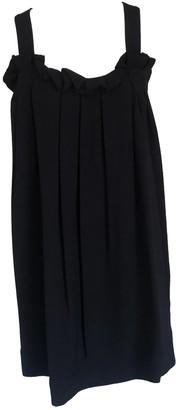 Onelady Tie Short Dress Black - Carol