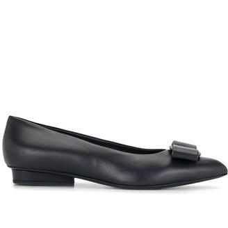 Salvatore Ferragamo Bow-Detail Ballerina Shoes