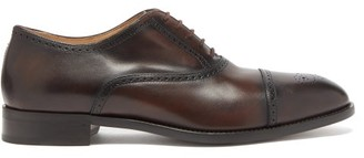 Paul Smith Sonnet Leather Oxford Shoes - Tan