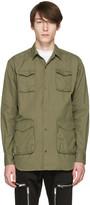 Undercover Khaki Military Shirt