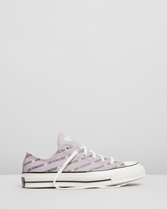 Converse Chuck Taylor All Star 70 Love Fearlessly Leather Low-Top - Women's