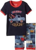 Hatley Rush Hour Applique Short Pajama Set Boy's Pajama Sets