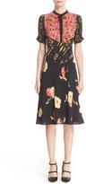 Etro Women's 'Kimono' Floral Print Silk Dress