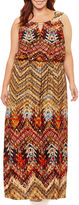 S.O.H.O New York Sleeveless Embellished Maxi Dress-Plus