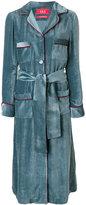 F.R.S For Restless Sleepers velvet belted gown