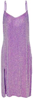 retrofete Denisa Sequined Chiffon Dress