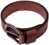True Religion Men's Perforated Leather Belt