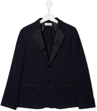 Paolo Pecora Kids TEEN tailored single-breasted blazer