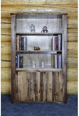 Abella Loon Peak Standard Bookcase Loon Peak Finish: Stained and Lacquered