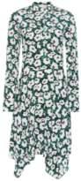 Stella McCartney Floral Silk Shirt Dress