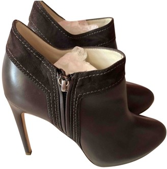 Rupert Sanderson Brown Leather Ankle boots