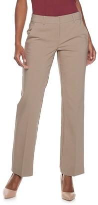 Apt. 9 Petite Torie Modern Fit Straight-Leg Dress Pants