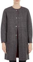 Gerard Darel Galia Reversible Wool Coat