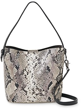 Botkier Crosby Colorblock Small Leather Bucket Bag