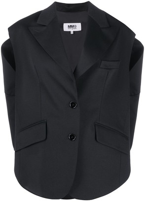 MM6 MAISON MARGIELA Deconstructed Layered-Effect Waistcoat