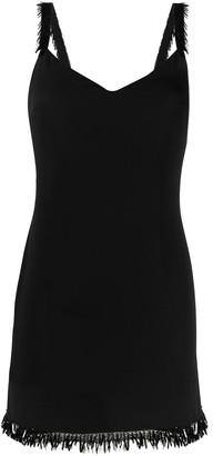 Elisabetta Franchi Tassel-Trim Mini Dress