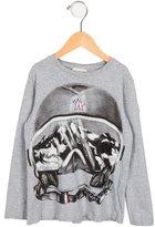 Moncler Boys' Graphic Print Long Sleeve Shirt